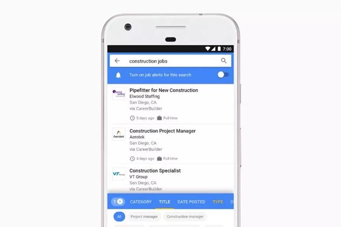 Google for Jobs giúp việc tìm kiếm việc làm trở nên dễ dàng hơn