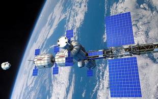 Các nhà máy của tương lai có thể lơ lửng ngoài vũ trụ