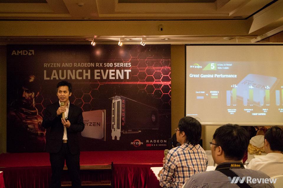 AMD giới thiệu vi xử lý Ryzen và card đồ họa Radeon RX 500 tại Việt Nam - ảnh 1