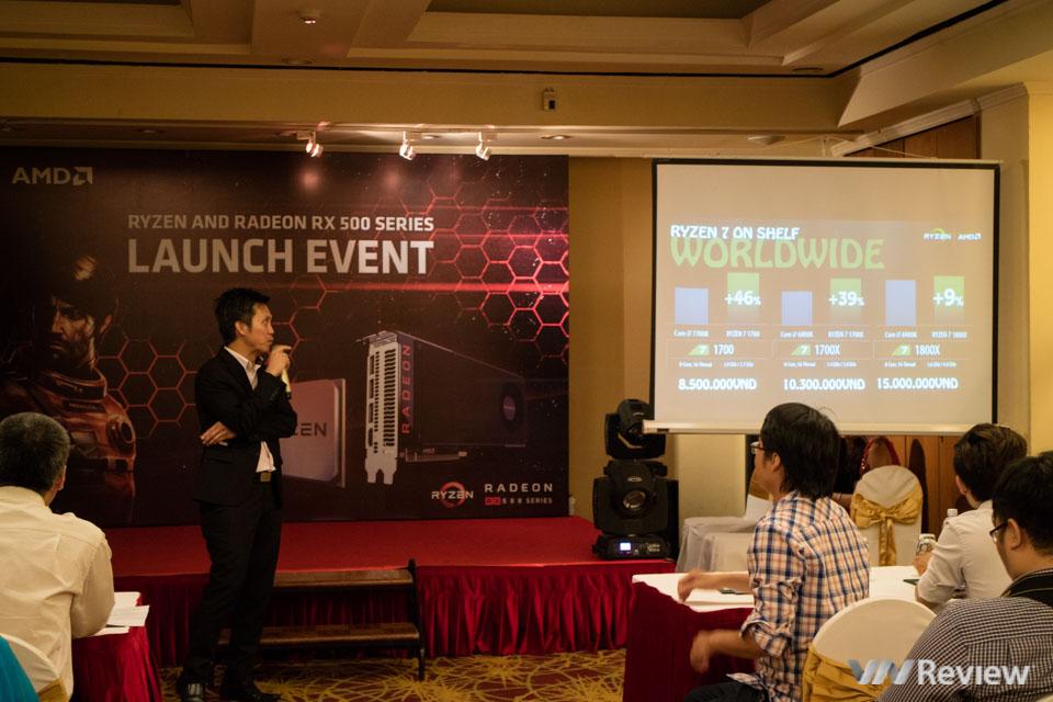 AMD giới thiệu vi xử lý Ryzen và card đồ họa Radeon RX 500 tại Việt Nam - ảnh 2