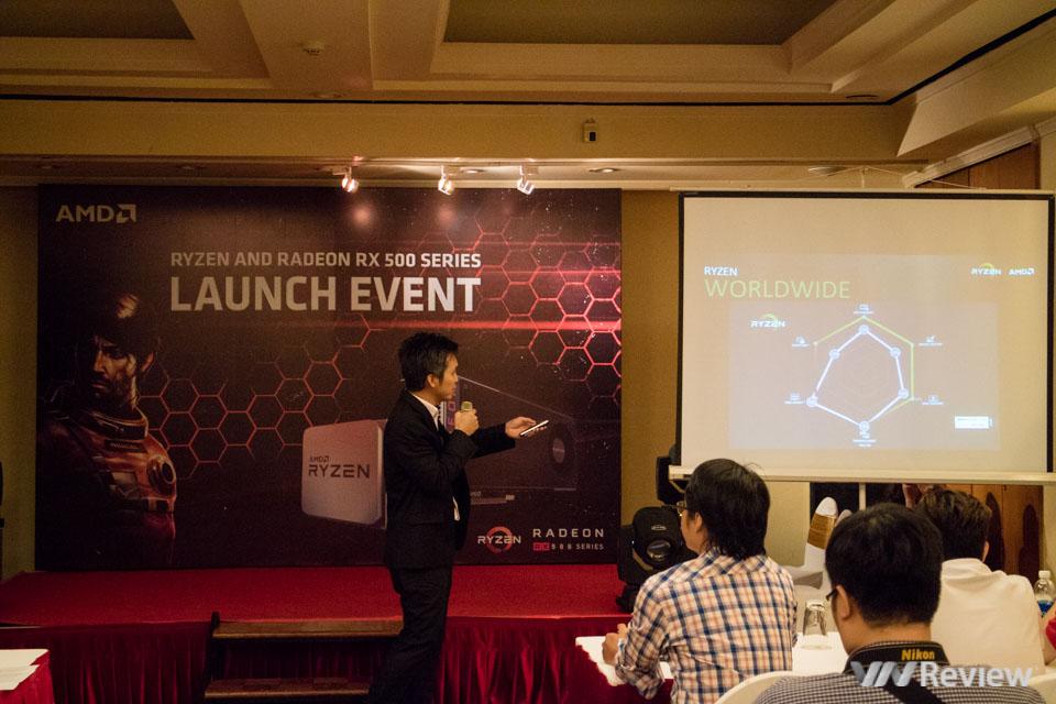 AMD giới thiệu vi xử lý Ryzen và card đồ họa Radeon RX 500 tại Việt Nam - ảnh 3