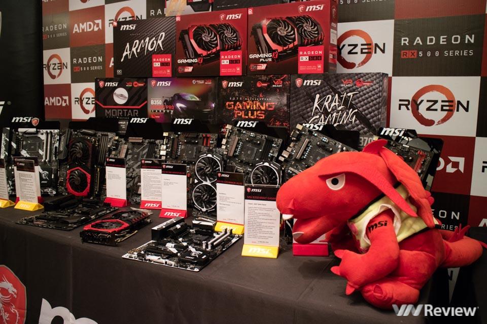 AMD giới thiệu vi xử lý Ryzen và card đồ họa Radeon RX 500 tại Việt Nam - ảnh 5