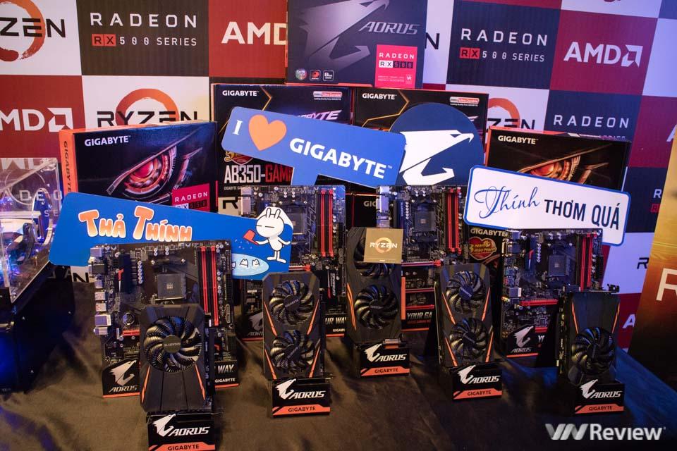 AMD giới thiệu vi xử lý Ryzen và card đồ họa Radeon RX 500 tại Việt Nam - ảnh 8