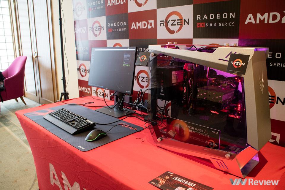 AMD giới thiệu vi xử lý Ryzen và card đồ họa Radeon RX 500 tại Việt Nam - ảnh 9