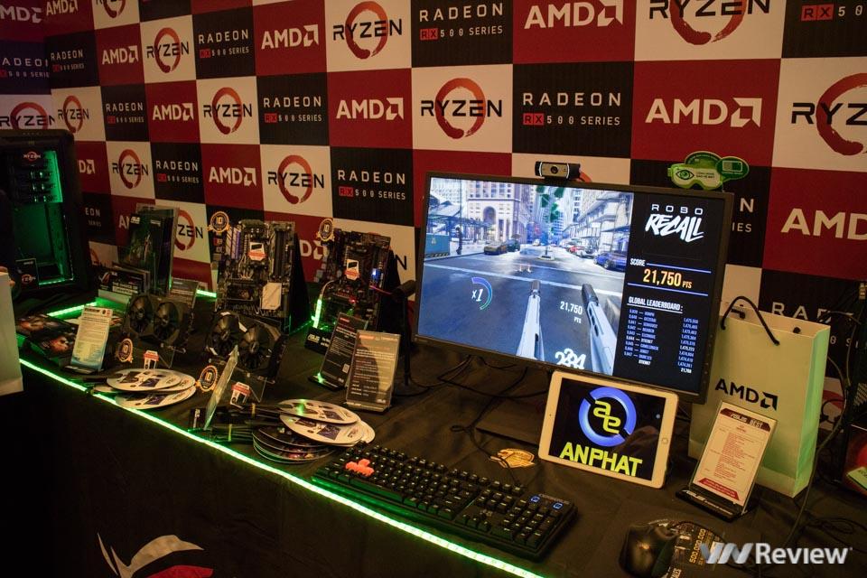 AMD giới thiệu vi xử lý Ryzen và card đồ họa Radeon RX 500 tại Việt Nam - ảnh 10