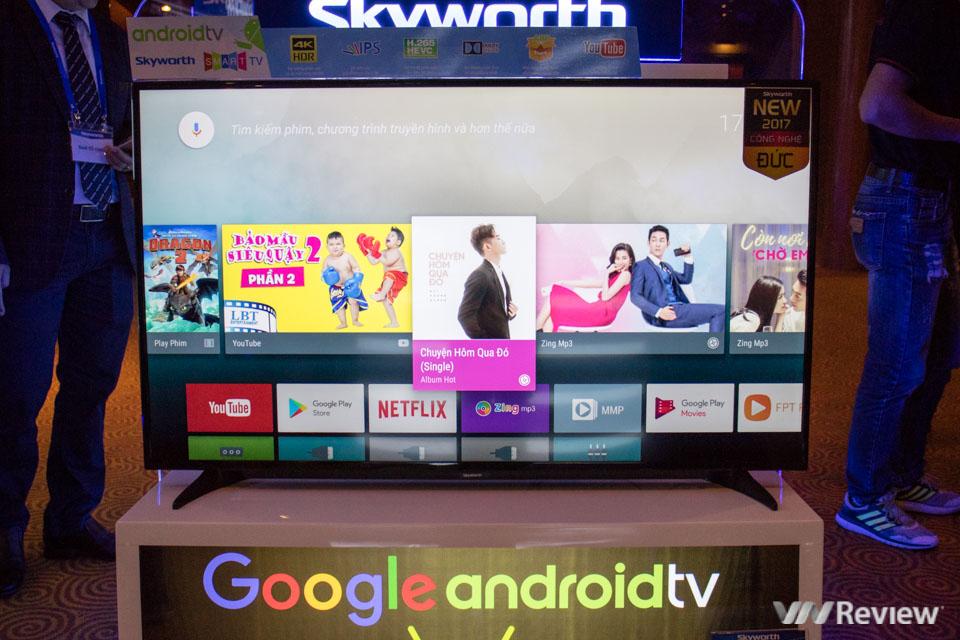 Skyworth giới thiệu TV U4: lần đầu dùng Android, hỗ trợ nhận diện giọng nói - ảnh 1