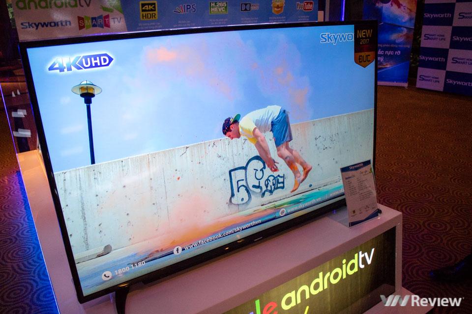 Skyworth giới thiệu U4: TV 4K HDR dùng Android, giá rẻ hơn hãng khác 30% - ảnh 6