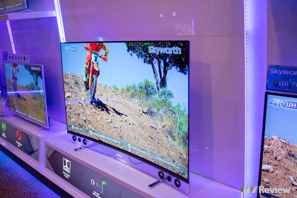 Skyworth giới thiệu U4: TV 4K HDR dùng Android, giá rẻ hơn hãng khác 30%