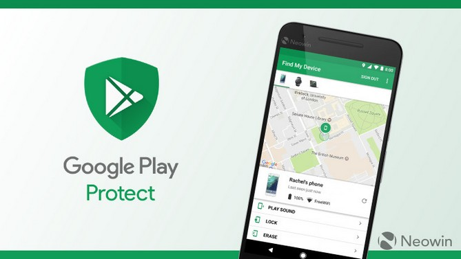 Google đổi tên Android Device Manager thành Find My Device