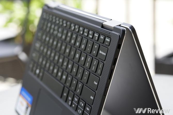 Cận cảnh laptop viền siêu mỏng Dell XPS 13 2 trong 1 mới