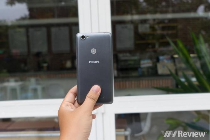 Cận cảnh Philips S326: Smartphone 4G giá 2 triệu đồng