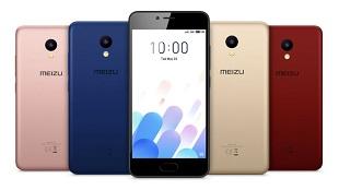 Meizu giới thiệu M5c với 5 lựa chọn màu sắc