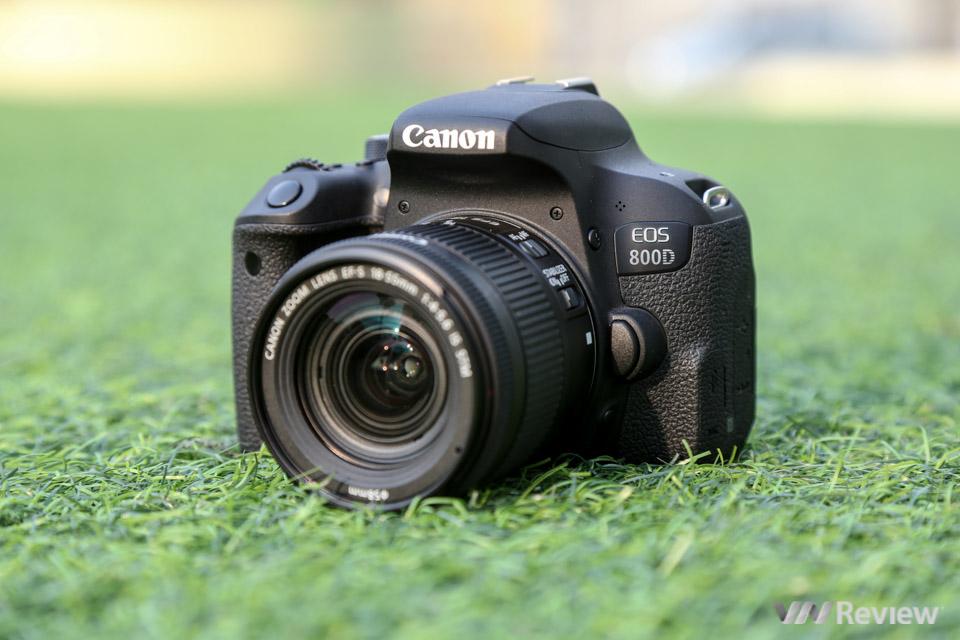 Đánh giá nhanh Canon EOS 800D: lựa chọn sáng giá cho người mới chụp