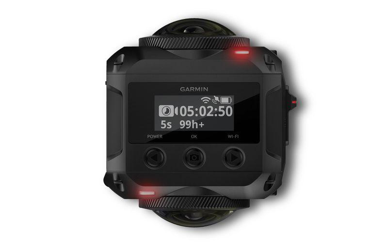 Garmin ra mắt camera 360 độ, có chống nước và thu âm 3D