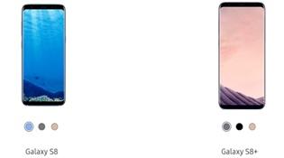 Samsung giới thiệu 3 màu mới cho Galaxy S8 và S8+