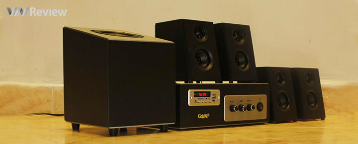 Tặng bạn đọc 2 bộ âm thanh gia đình GoldSound Bluetooth W80