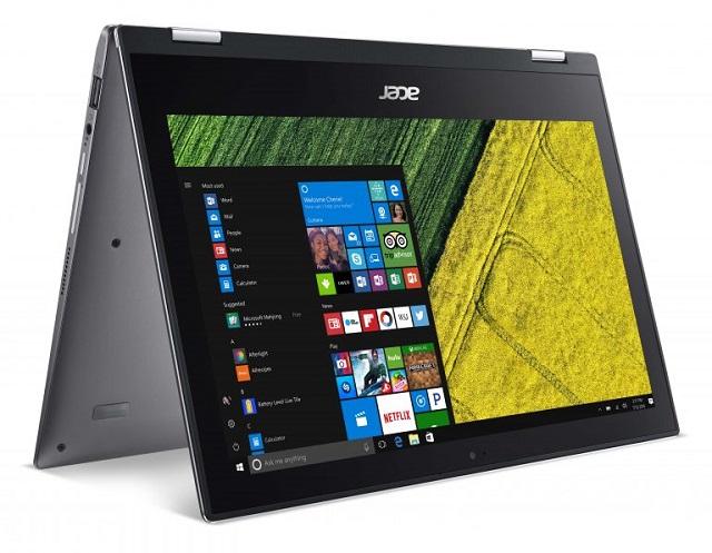 Laptop Acer 2 trong 1 có bút cảm ứng để viết trên màn hình như trên giấy