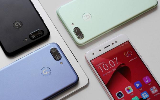 Gionee ra mắt smartphone Android có đến 4 camera