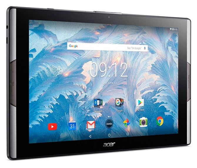 Acer ra mắt tablet dùng màn hình chấm lượng tử