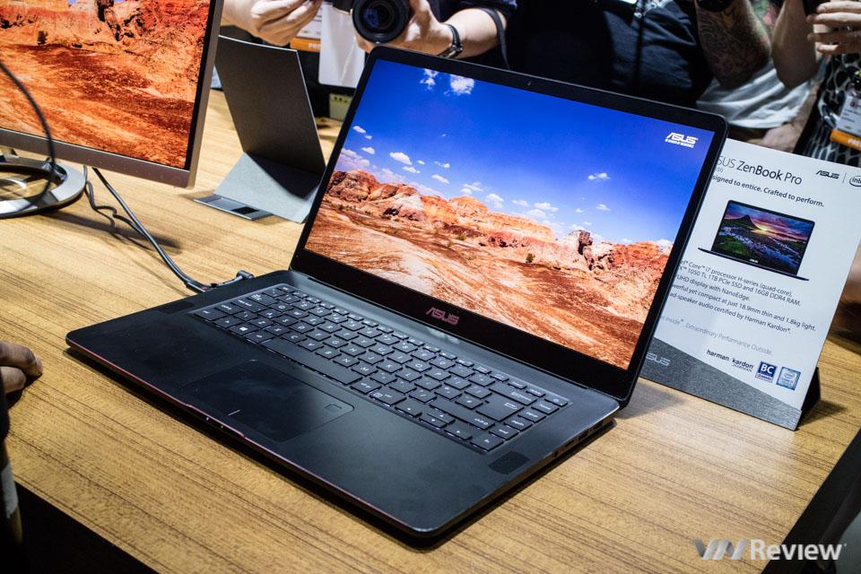 [Computex 2017] Asus ra mắt ZenBook Pro UX550 với màn hình cảm ứng 4K