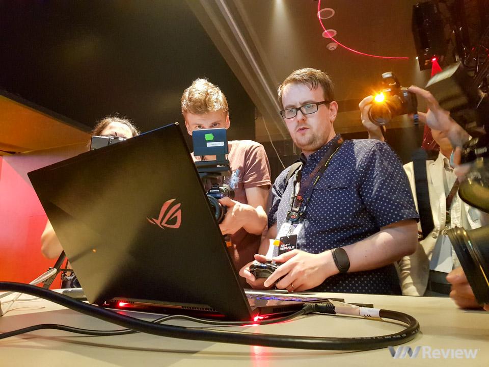 Asus RoG Zephyrus - Laptop dùng GTX 1080 mỏng nhất thế giới
