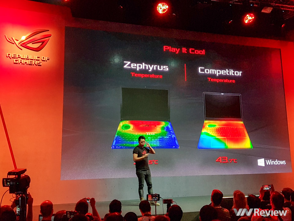 Asus RoG Zephyrus - Laptop dùng GTX 1080 mỏng nhất thế giới - 189930
