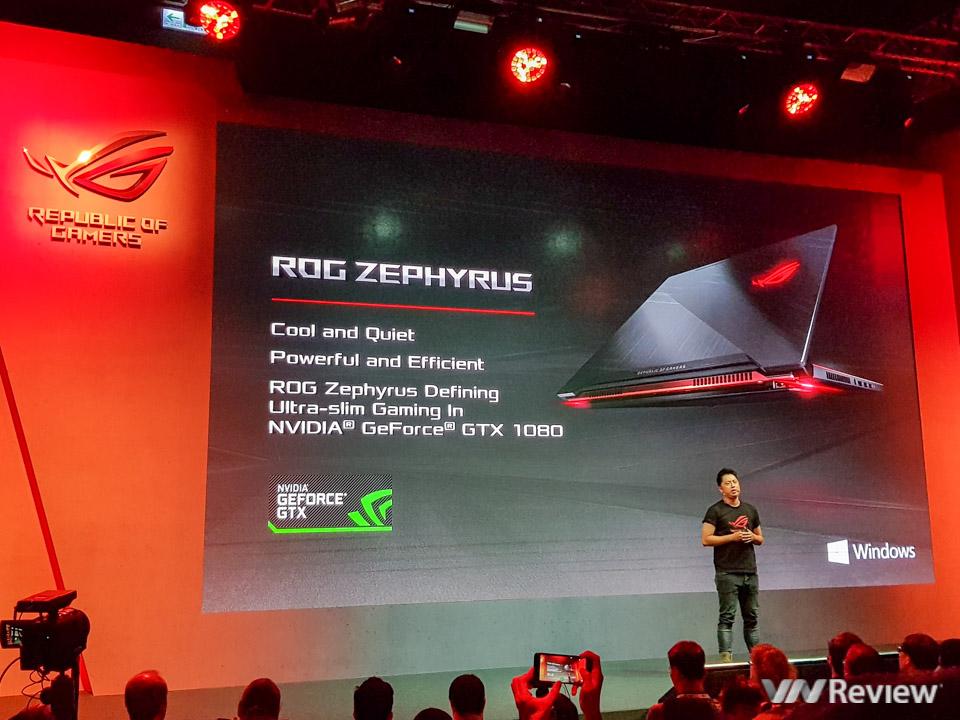 Asus RoG Zephyrus - Laptop dùng GTX 1080 mỏng nhất thế giới - 189936