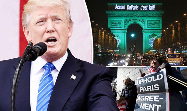 Sự nóng lên toàn cầu, Hiệp định Paris và vai trò của Mỹ