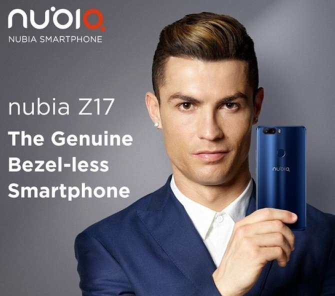 ZTE Nubia Z17 ra mắt với chip Snapdragon 835, RAM 8 GB