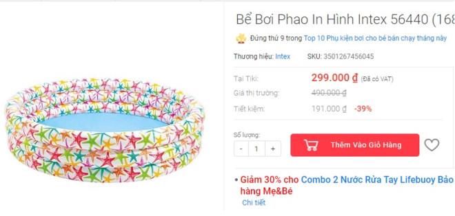 Những món đồ chống nóng giá dưới 300.000 đồng