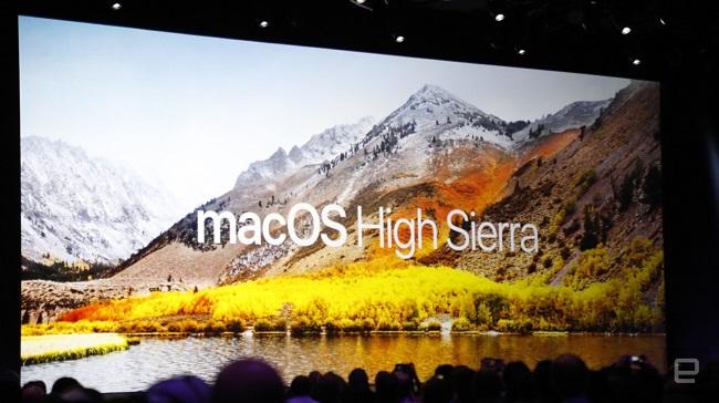 Apple ra mắt macOS High Sierra: Hệ thống tập tin mới, Safari siêu tốc