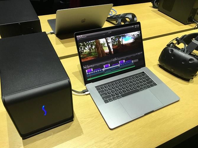 Apple ra mắt dock GPU rời cho Mac, hỗ trợ VR và 3D