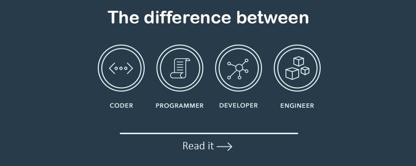 Cùng làm phần mềm, Programmer, Coder, Developer và Engineer khác nhau thế nào?