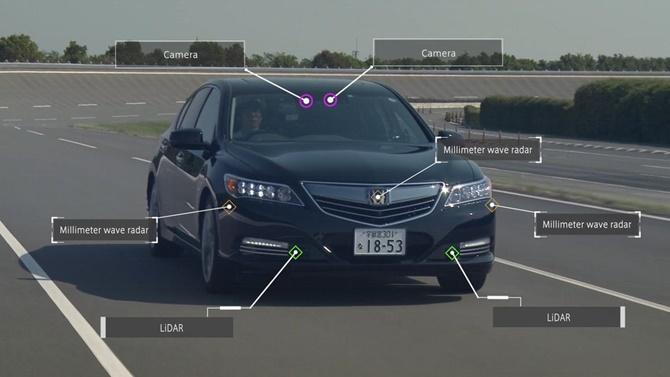 Honda đưa ra tầm nhìn về những chiếc xe tự lái trong năm 2025
