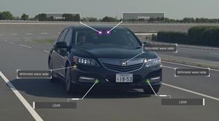 Honda hé lộ tầm nhìn về xe tự lái trong năm 2025