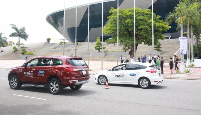 Ford Việt Nam tiếp tục triển khai chương trình hướng dẫn lái xe an toàn năm thứ 10