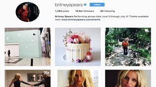 Hacker lợi dụng Instagram của Britney Spears để phát tán mã độc