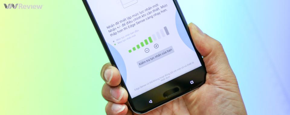 Đánh giá nhanh HTC U11: hoàn thiện rất tốt, chạy mượt