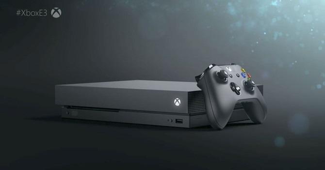 Microsoft ra mắt Xbox One X: Console mạnh mẽ nhất, giá 500 USD