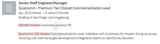 Snapdragon 845 lộ diện, tích hợp chip modem 5G
