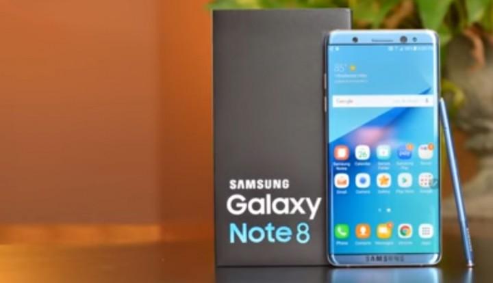Galaxy Note 8 vẫn dùng máy quét vân tay ở mặt sau?