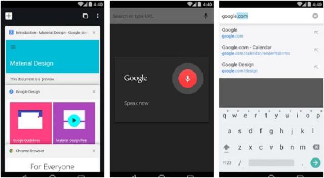 Phiên bản Chrome 60 beta dành cho Android mang lại nhiều cải tiến mới