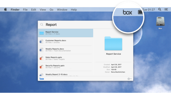 Cạnh tranh với Google Drive, Box cũng ra mắt ứng dụng desktop Box Drive