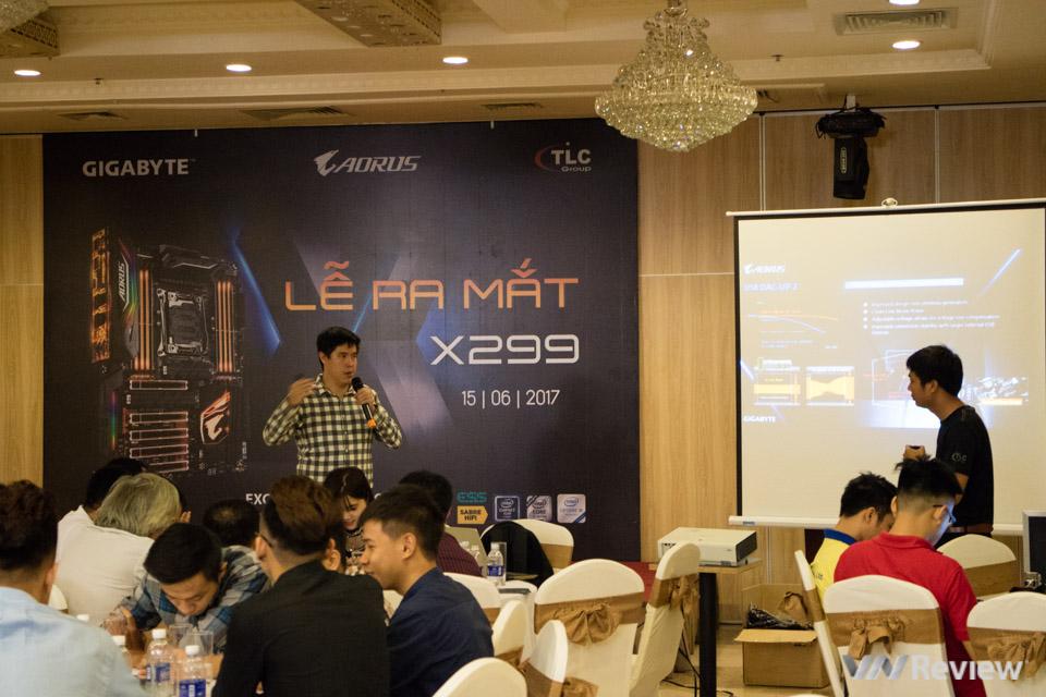 Vừa ra mắt tại Computex, X299 Aorus Gaming đã được Gigabyte đem về Việt Nam