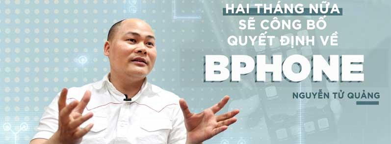 Sau Bphone, ông Nguyễn Tử Quảng chuyển hướng tới công nghiệp 4.0?
