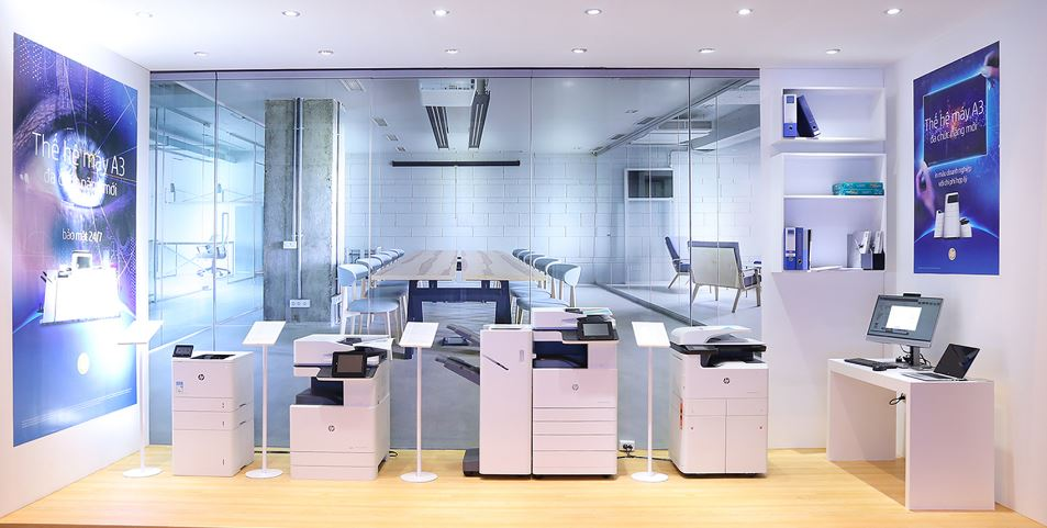 HP giới thiệu dòng máy in A3 tích hợp bảo mật cho doanh nghiệp
