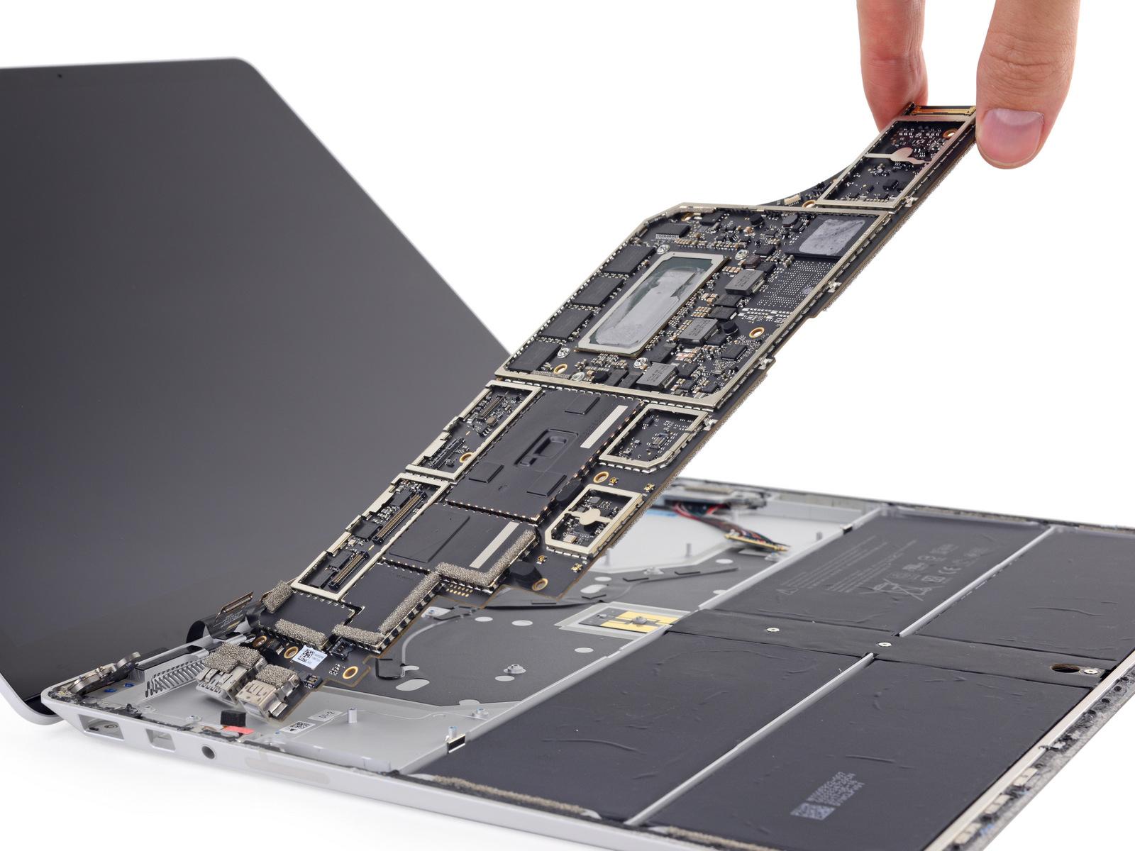 Microsoft Surface Laptop: chỉ có phá mới mở được máy, 0 điểm iFixit