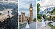 Xem bộ ảnh cưới của cặp đôi chụp tại 11 quốc gia