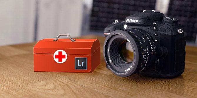 10 mẹo khắc phục sự cố máy ảnh với Lightroom - ảnh 1