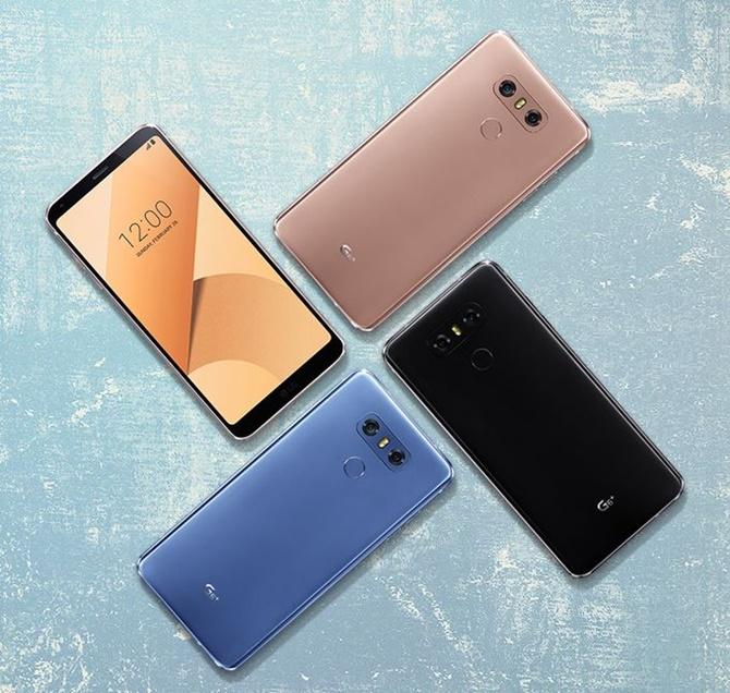 LG bất ngờ ra mắt LG G6+ và thêm màu sắc cho G6 - ảnh 2